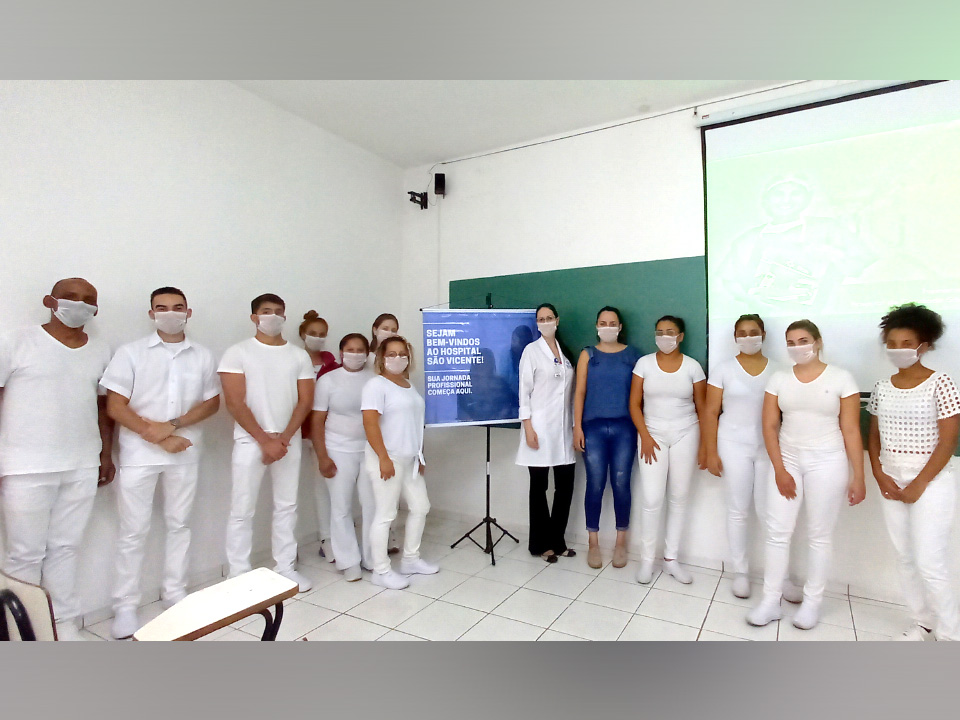 Espaço é utilizado para aulas teóricas e práticas